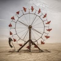Burning Man Marka Musila v Nikon Photo Gallery