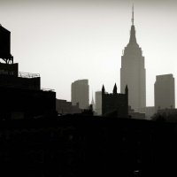 Panorama města s Empire State Building, New York 2011 | © Andreas H. Bitesnich