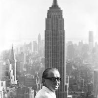Foto Jan Lukas – Jiří Kolář na Radio City Hall, 1970