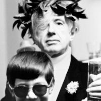 Foto Jan Lukas – Martin Stránský a Ivo Ducháček (na stanici Hlas Ameriky vystupoval jako Martin Čermák), 1967