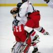 © JIŘÍ KOLIŠ, www.kolis.cz: Hokejisté České republiky po vítězném finále – ZOH Nagano 1998 / Czech icehockey players after winning the final – Winter Olympic Games Nagano 1998