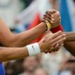 © JIŘÍ KOLIŠ, www.kolis.cz: po finále tenisové čtyřhry žen – LOH Londýn 2012 / After the final of women's tennis doubles – Summer Olympic Games London 2012