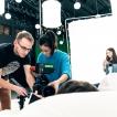 Natáčení studentského filmu Mimo dosah | Zdroj foto: Mimo dosah
