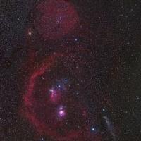 Orion   © Johannes Schedler   observatoř CTIO, Chile