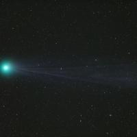 Kometa Lovejoy   © Johannes Schedler   observatoř CTIO, Chile
