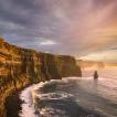 Příběhy divokého oceánu / Wild Ocean Stories © George Karbus: Majestátné útesy Cliffs of Mohers, Západní pobrezi irska / Majestic Cliffs of Moher, West Coast of Ireland
