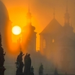 Tajemná Praha / Mysterious Prague | © Richard Horák: Slunce mezi staroměstskými věžemi / Sun between the Old Town's Towers
