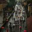 Tajemná Praha / Mysterious Prague | © Richard Horák: Deštníky na Karlově mostě / Umbrellas on the Charles Bridge
