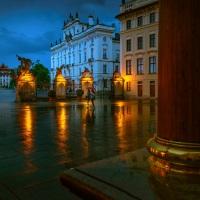 Tajemná Praha / Mysterious Prague | © Richard Horák: Matyášova brána v dešti / Rainy Matthias Gate