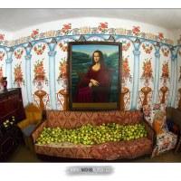 Chaloupka zesnulého legendárního malíře pana Řeháka, Bígr, Rumunsko