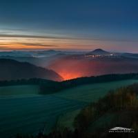 Peklo (Českosaské Švýcarsko) | Foto Václav Hýža | Nikon D80. Panorama z 6 snímků, 3× EBKT
