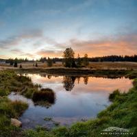 Filipova huť (Šumava) | Foto Václav Hýža | Panorama složené z 6 snímků, 3× EBKT