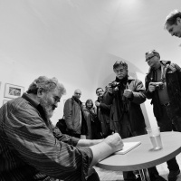 Vernisáž Stana Pekára – Měsíc fotografie 2012, Bratislava | Foto Bohumil Šálek