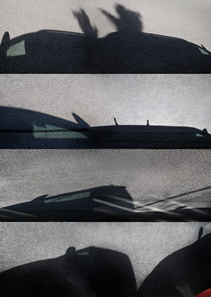 © Vladimír Kozlík: Asfaltové stíny – 24.3.2013 – Procházky / Asphalt shadows – 24. 3. 2013 – Walks