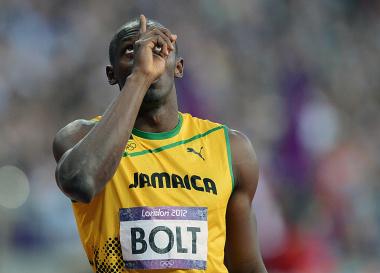© JIŘÍ KOLIŠ, www.kolis.cz: Usain Bolt – Jamaica – před startem běhu na 200 m – LOH Londýn 2012 / Usain Bolt – Jamaica – before the start of the 200m race – Summer Olympic Games 2012