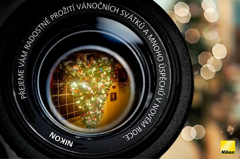 Šťastné Vánoce a úspěšný nový rok přeje Nikonblog.cz