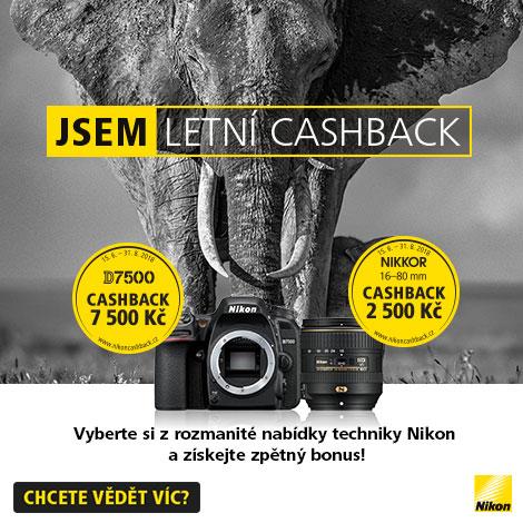 Letní cashback Nikonu 2018