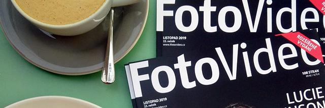 Papírové fotografie v listopadovém vydání časopisu FotoVideo