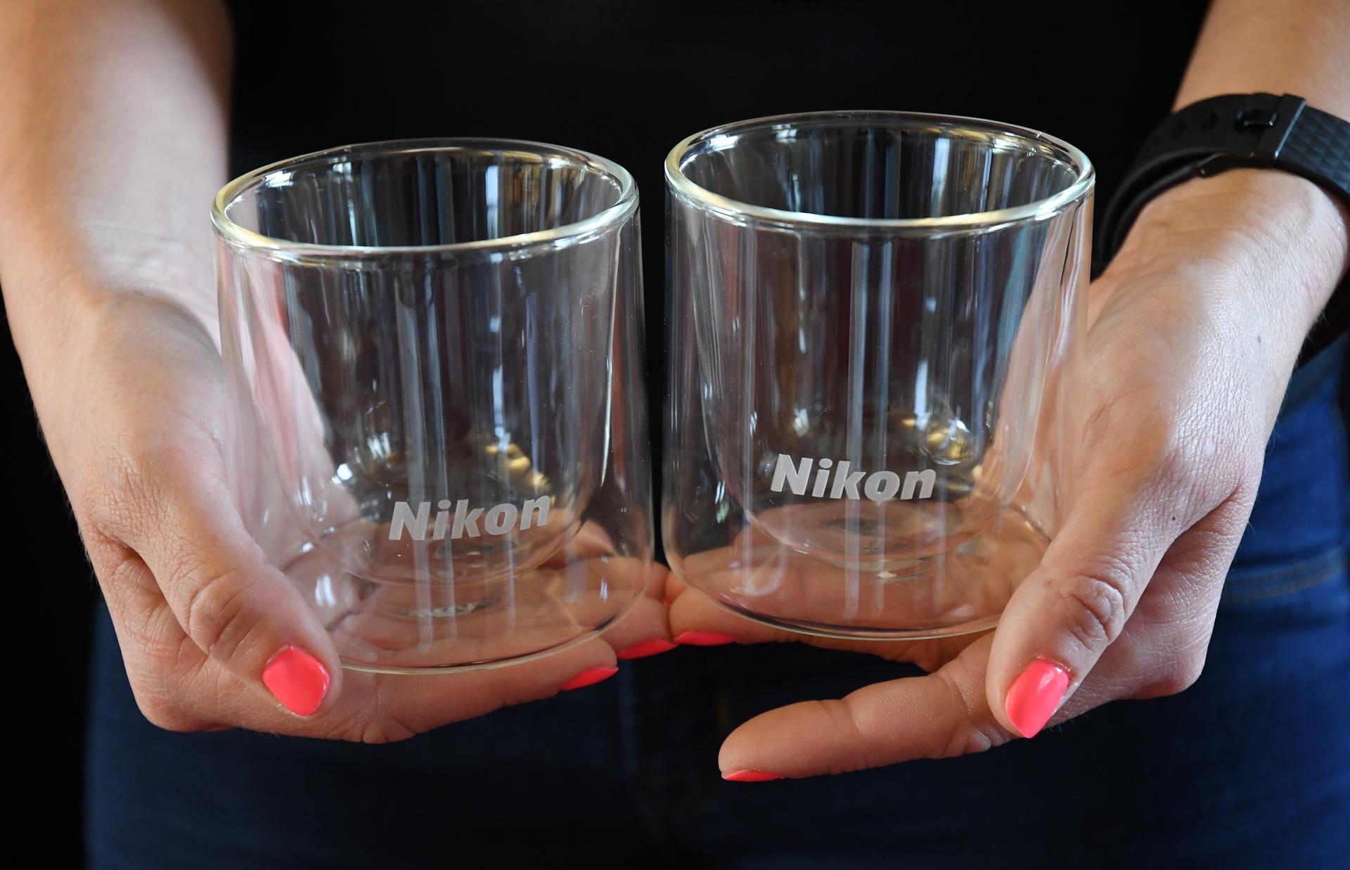 Sada skleniček Nikon