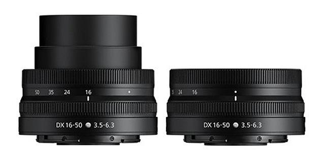 Nikkor Z DX 16–50 mm f/3,5–6,3 VR