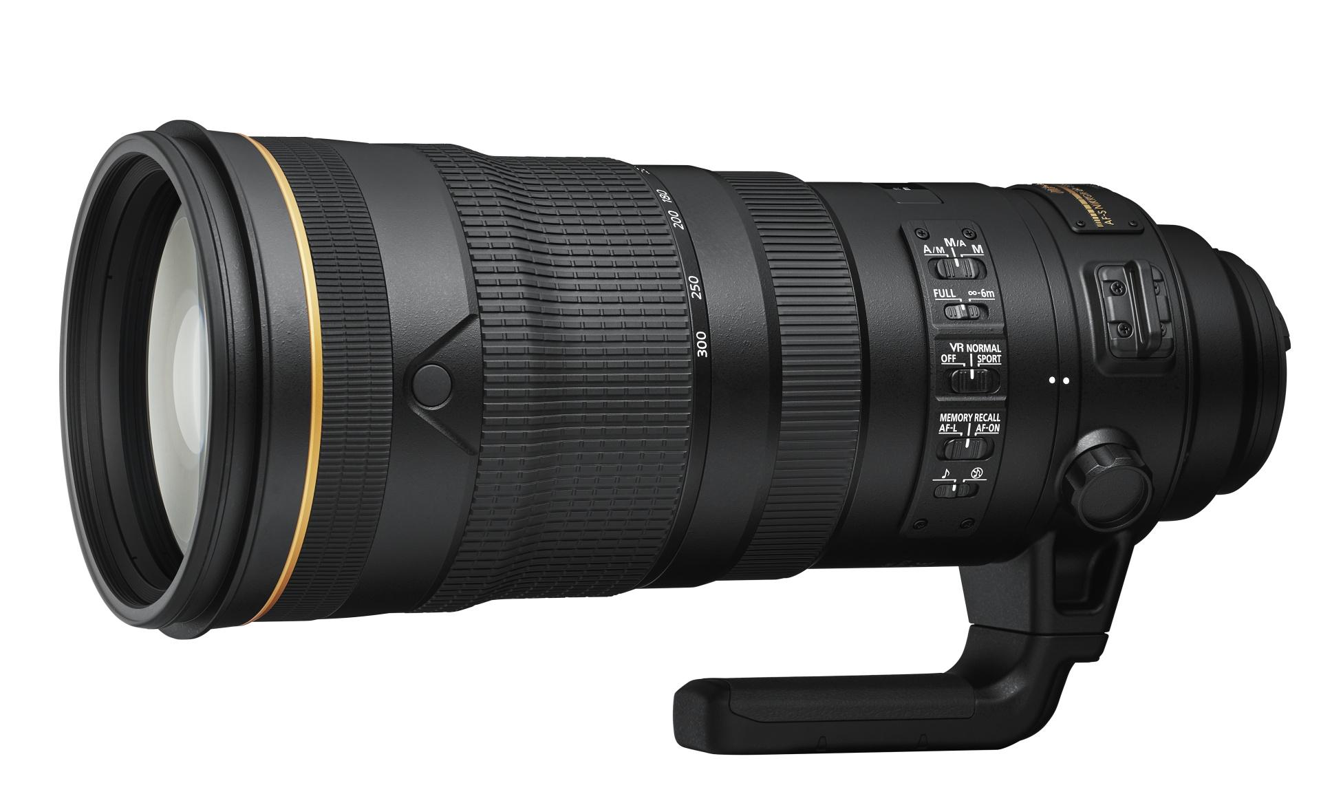 AF-S Nikkor 120–300 mm f/2,8E FL ED SR VR