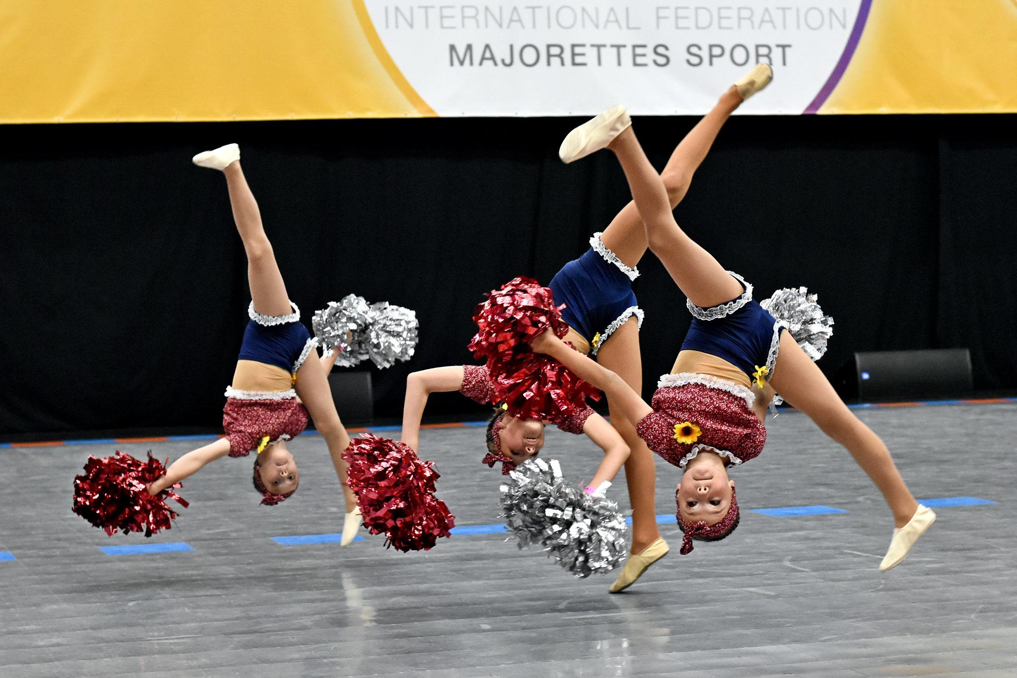 Mažoretky 4. Z Mistrovství světa v mažoretkovém sportu pro rok 2019 | Foto Zdeněk Bierhanzl
