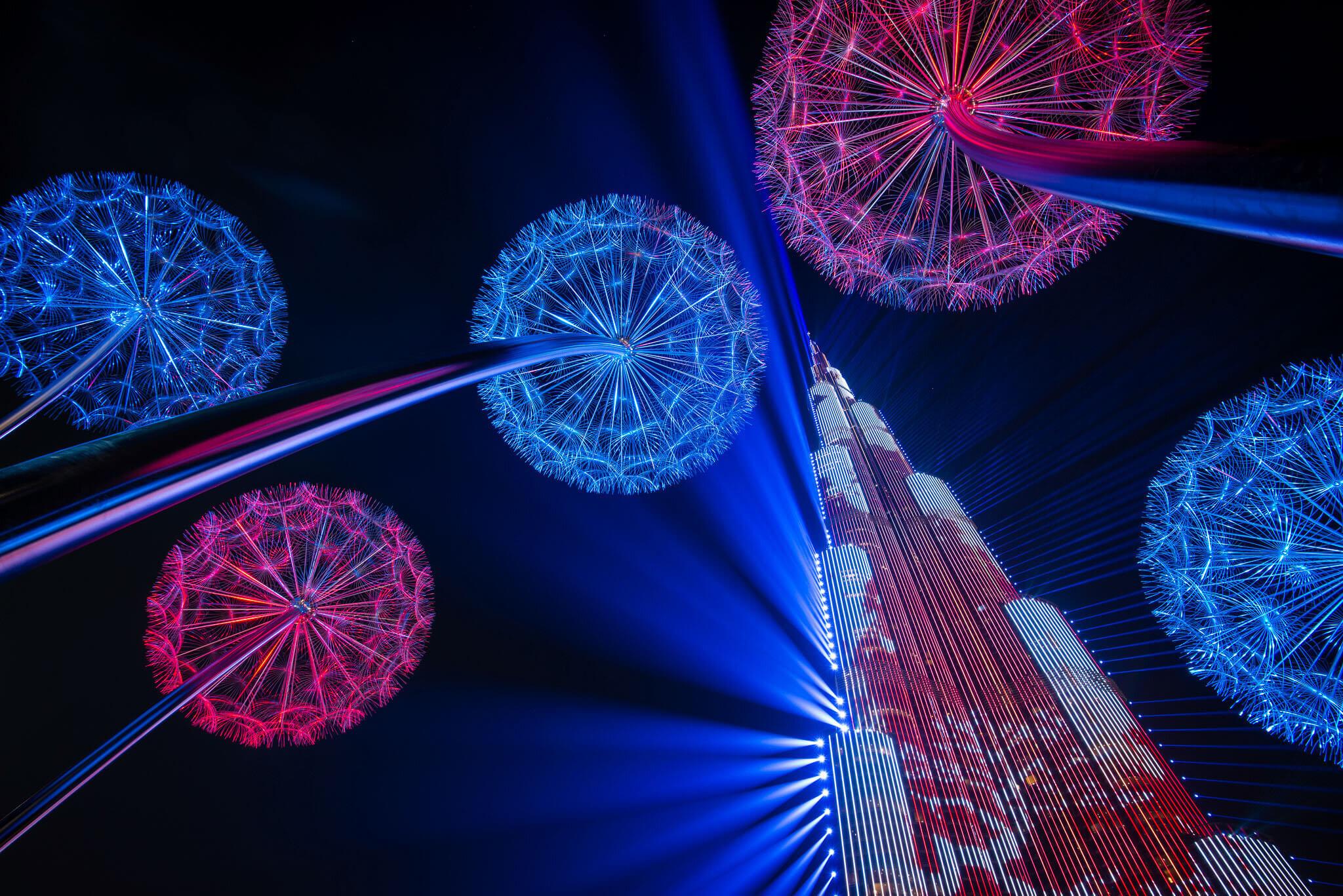 Svetelná show (fotografia z Nikon kalendára 2019) | Foto: Ľuboš Paukeje