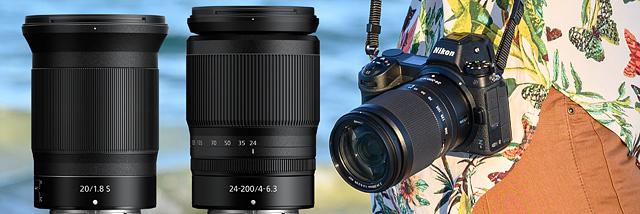 Nejširší pevné sklo a zoom s největším rozsahem –dva nové objektivy pro Nikony Z se představují