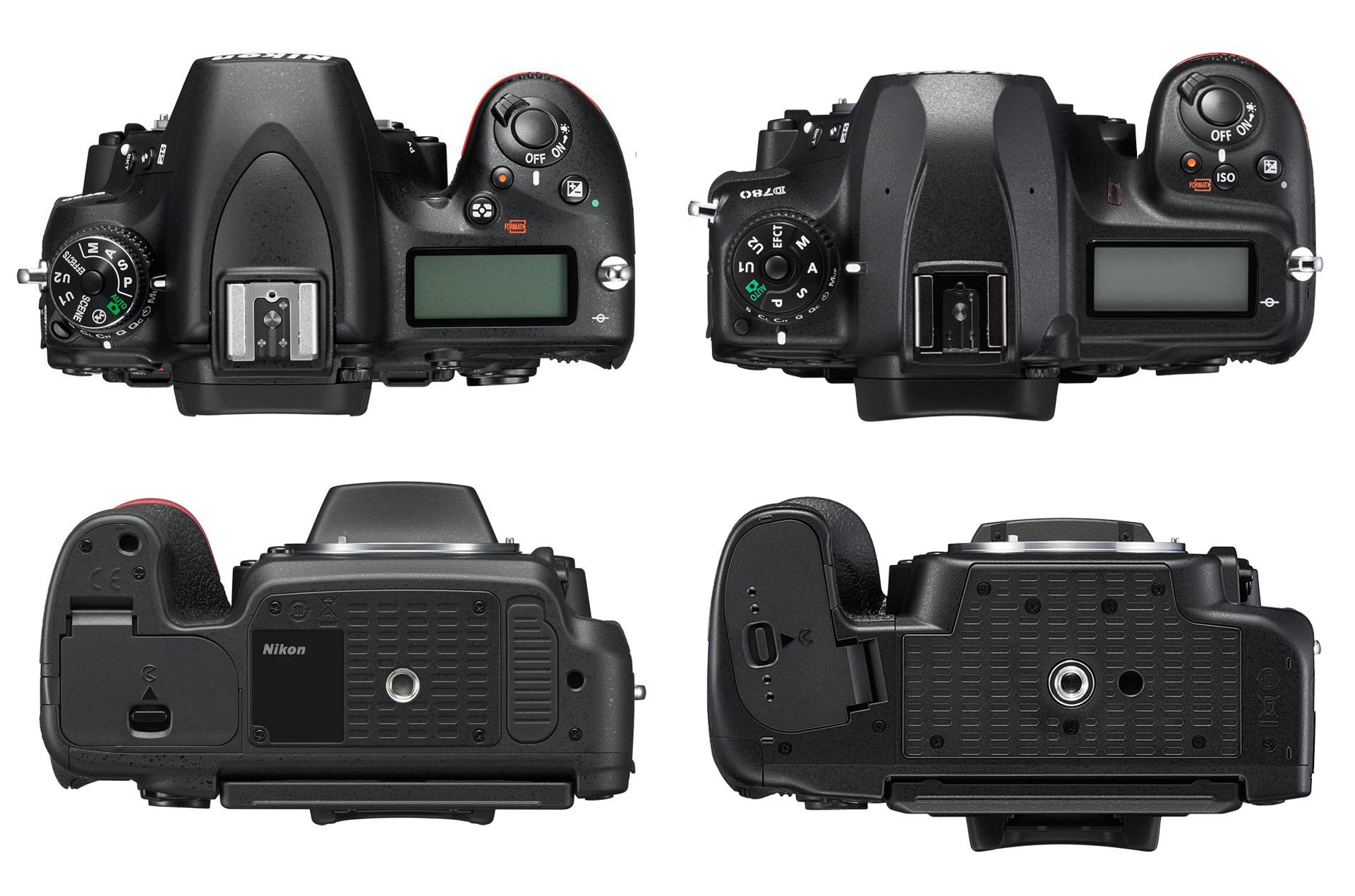 Nikon D750 vs. Nikon D780