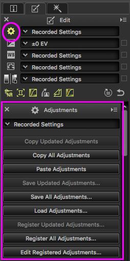 Ulehčete si práci –ukládání nastavení úprav v Capture NX-D