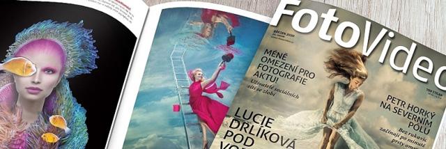 Březnové FotoVideo a Lucie Drlíková podruhé
