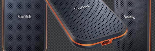 Data v kapse. Externí disk SanDisk Extreme Pro Portable SSD