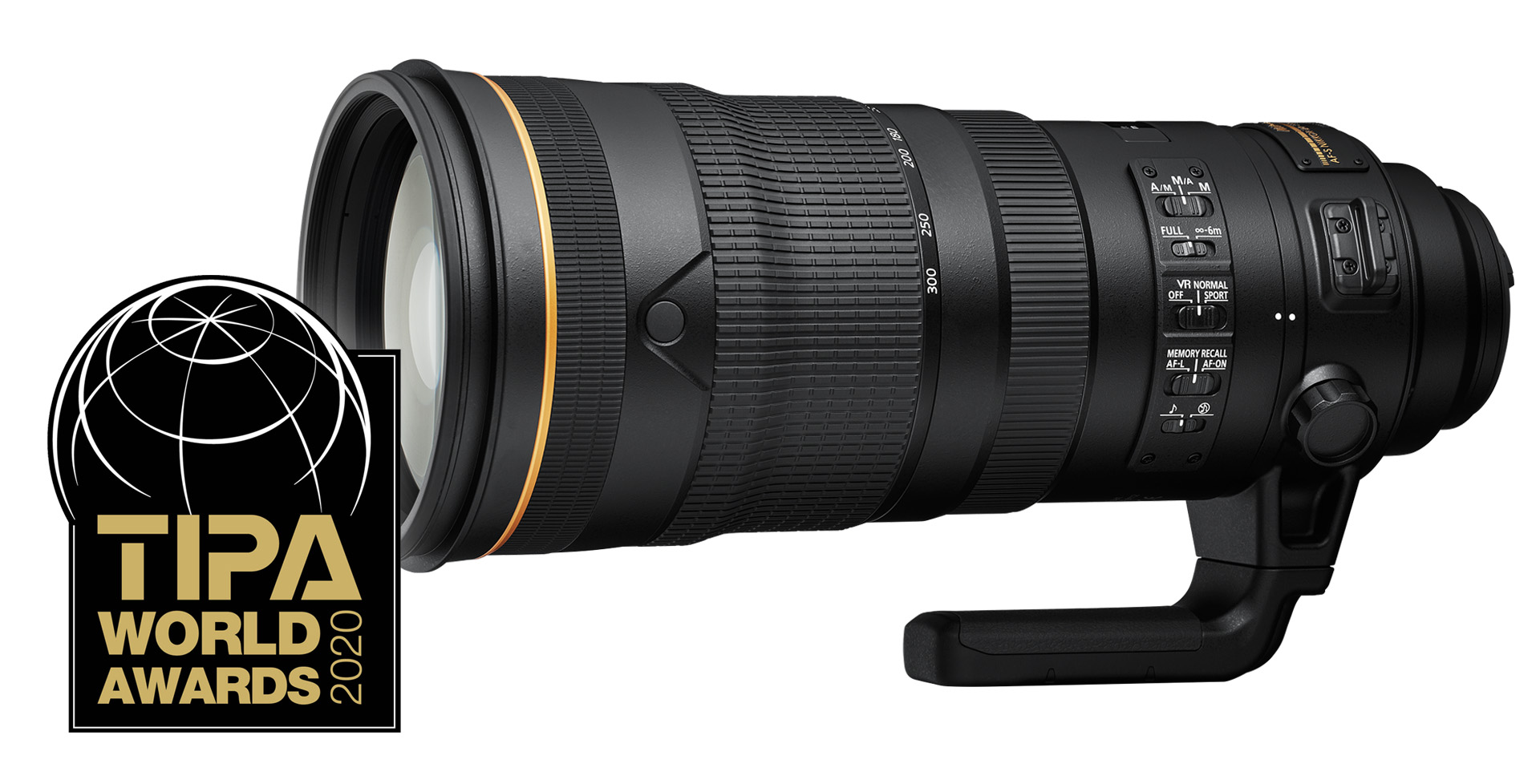 AF-S Nikkor 120–300 mm f/2,8E FL ED SR VR | TIPA 2020 – Nejlepší profesionální objektiv pro DSLR