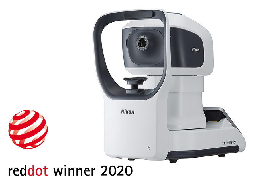 Fundus kamera Nikon RetinaStation | Red Dot Product Design 2020