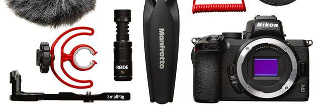 Nikon Z 50 Vlogger Kit –základní sada pro natáčení video blogů (a nejen jich)