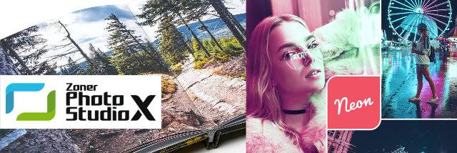 HD fotoknihy s plochou vazbou a Neonové presety –květnové novinky Zoner Photo Studia X