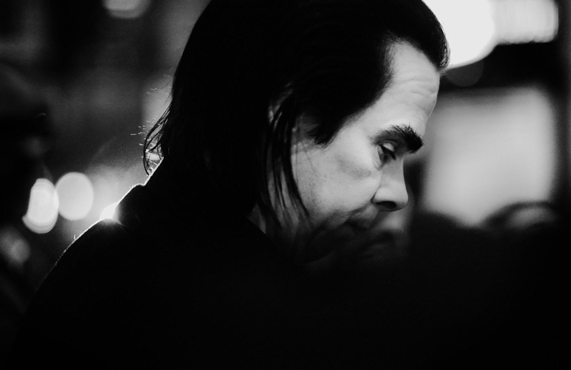 Nick Cave | Foto Bára Lockefeer