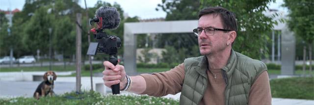 """""""Román o Z 50 –díl druhý."""" Video s Nikon Z 50 Vlogger Kitem"""