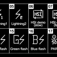 Efekty světla Fomei LED Mini RGB 12