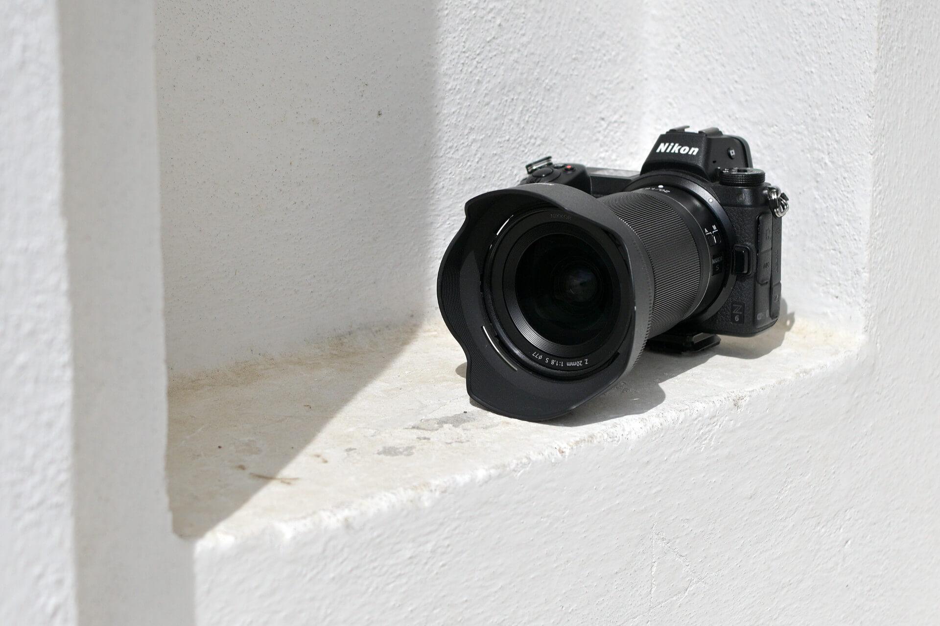Nikkor Z 20 mm f/1,8 S na Nikonu Z 6