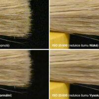 Nikon Z 5 –test šumu –ISO 25 600