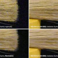 Nikon Z 5 –test šumu –ISO Hi 0,3 (64 000)