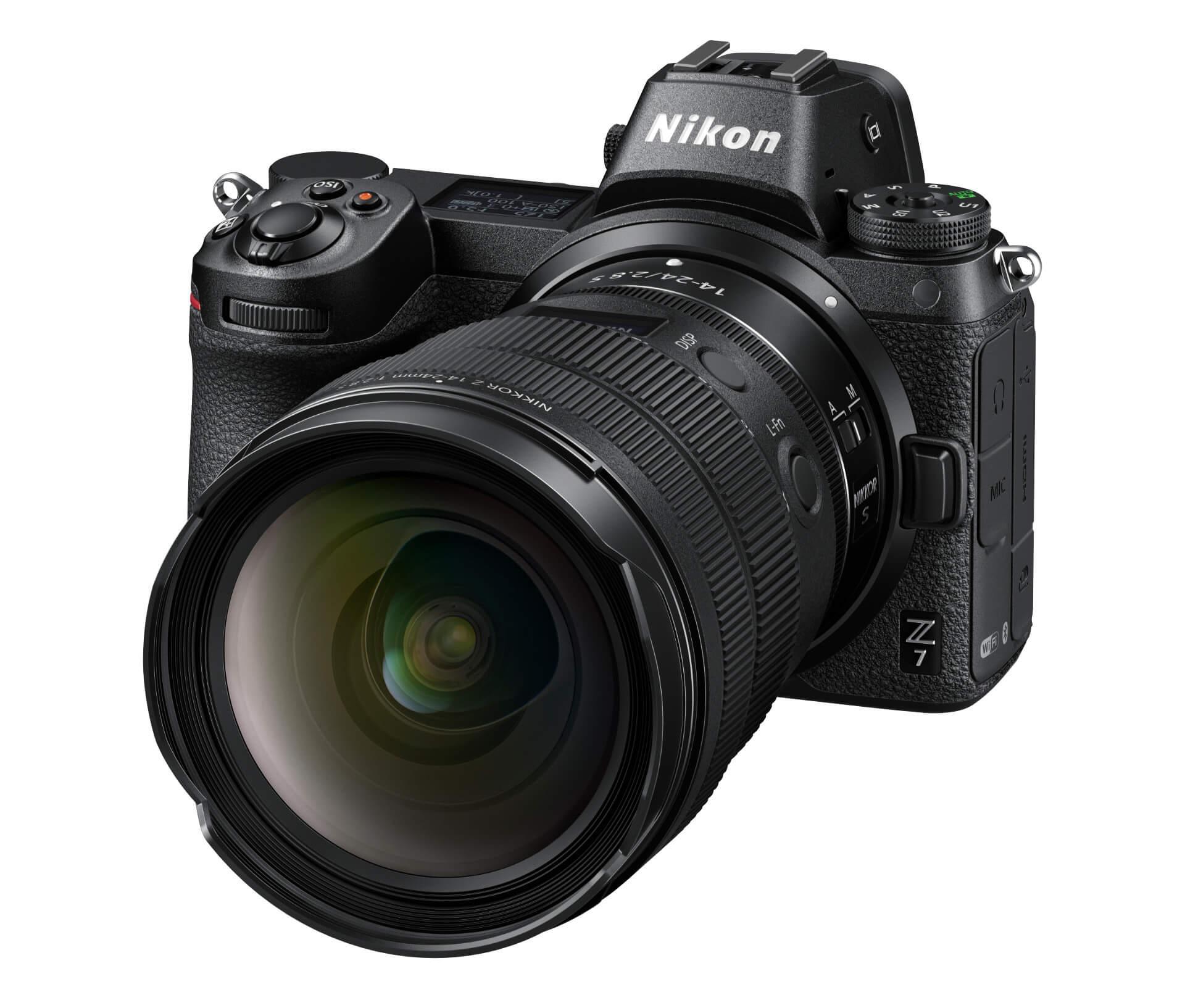 Nikkor Z 14–24 mm f/2,8 S na Nikonu Z 7
