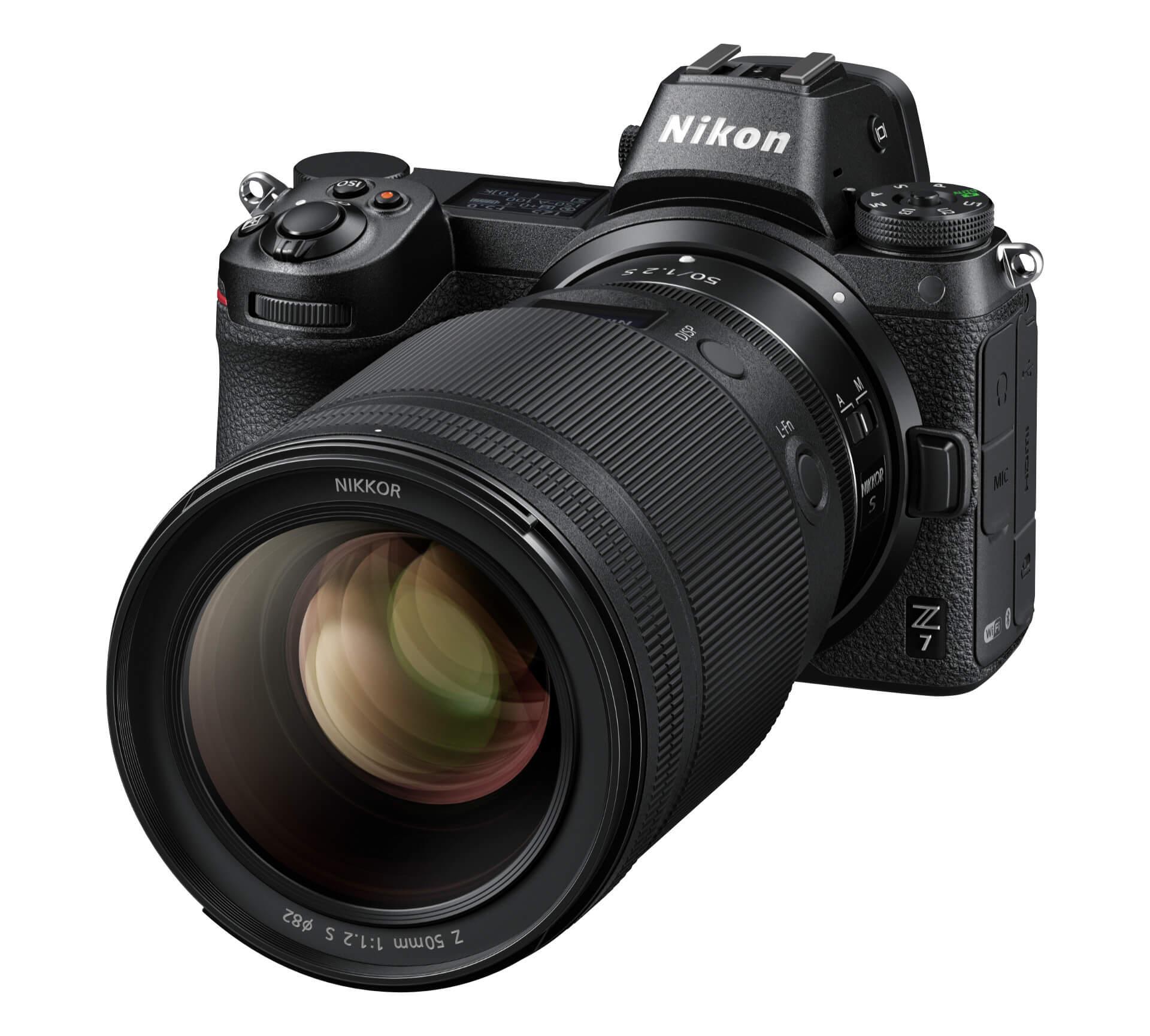 Nikkor Z 50 mm f/1,2 S na Nikonu Z 7
