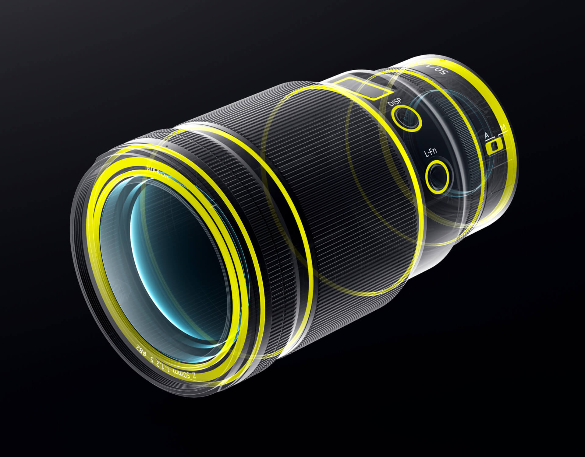 Utěsnění Nikkoru Z 50 mm f/1,2 S
