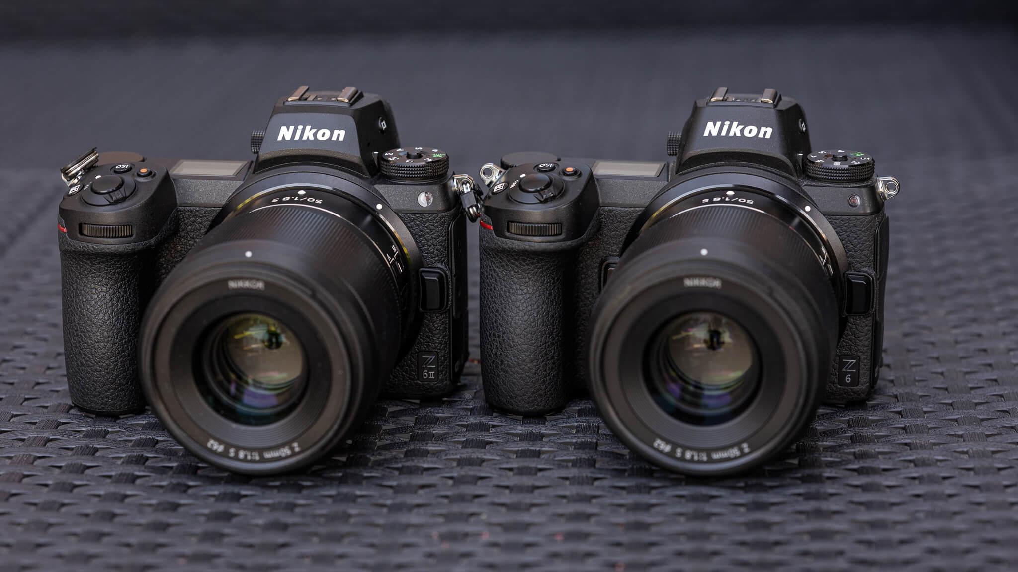 Nikon Z 6 a Z 6II