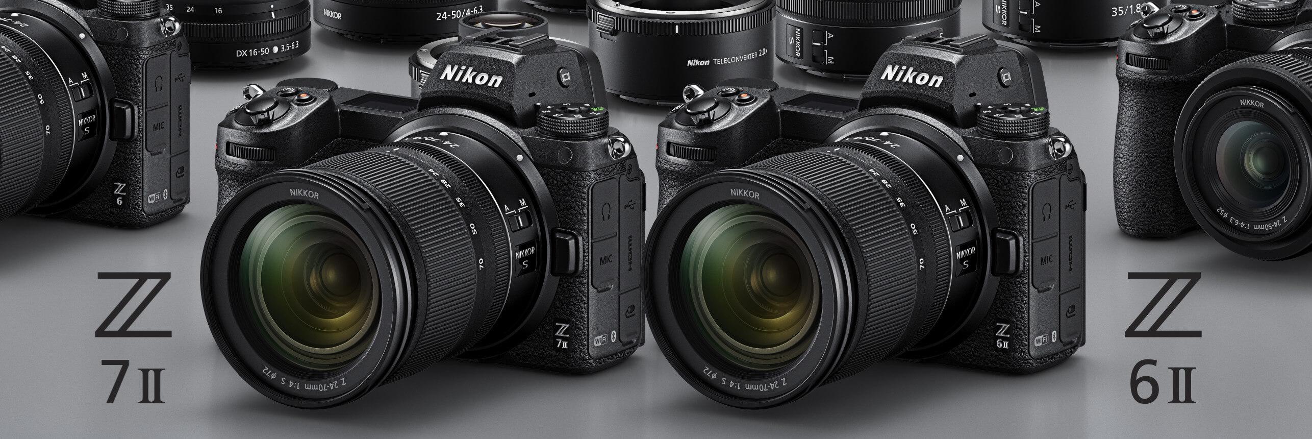 Nikon Z 6II a Z 7II –o novinkách podrobně