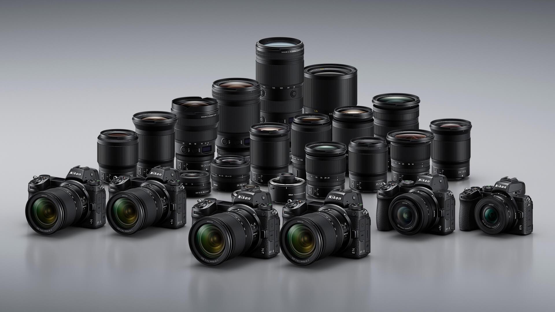 Portfolio Nikon Z –říjen 2020