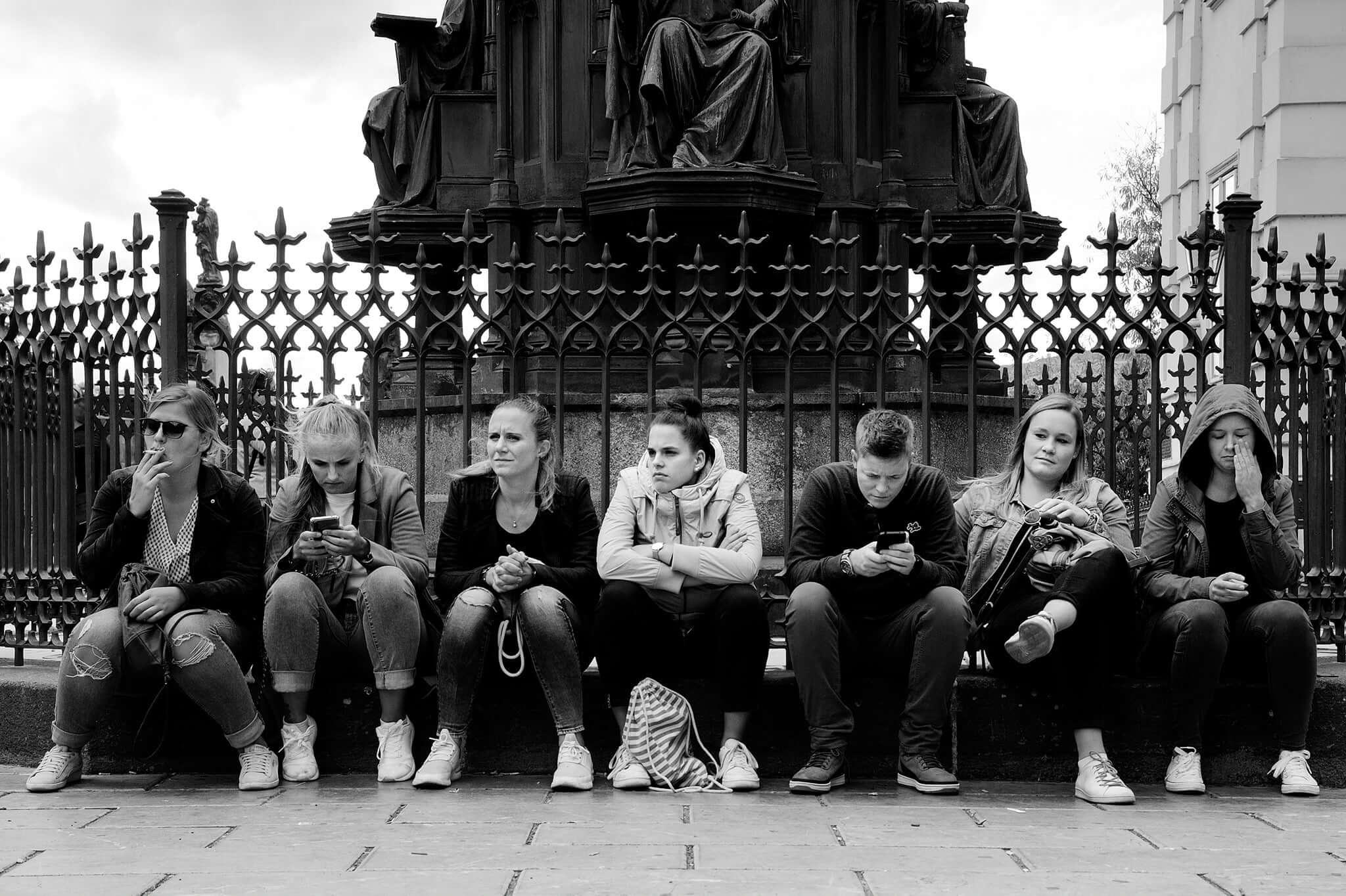 Spolu, a přesto každý sám –příběh naší doby   Foto Zdenek Krchák