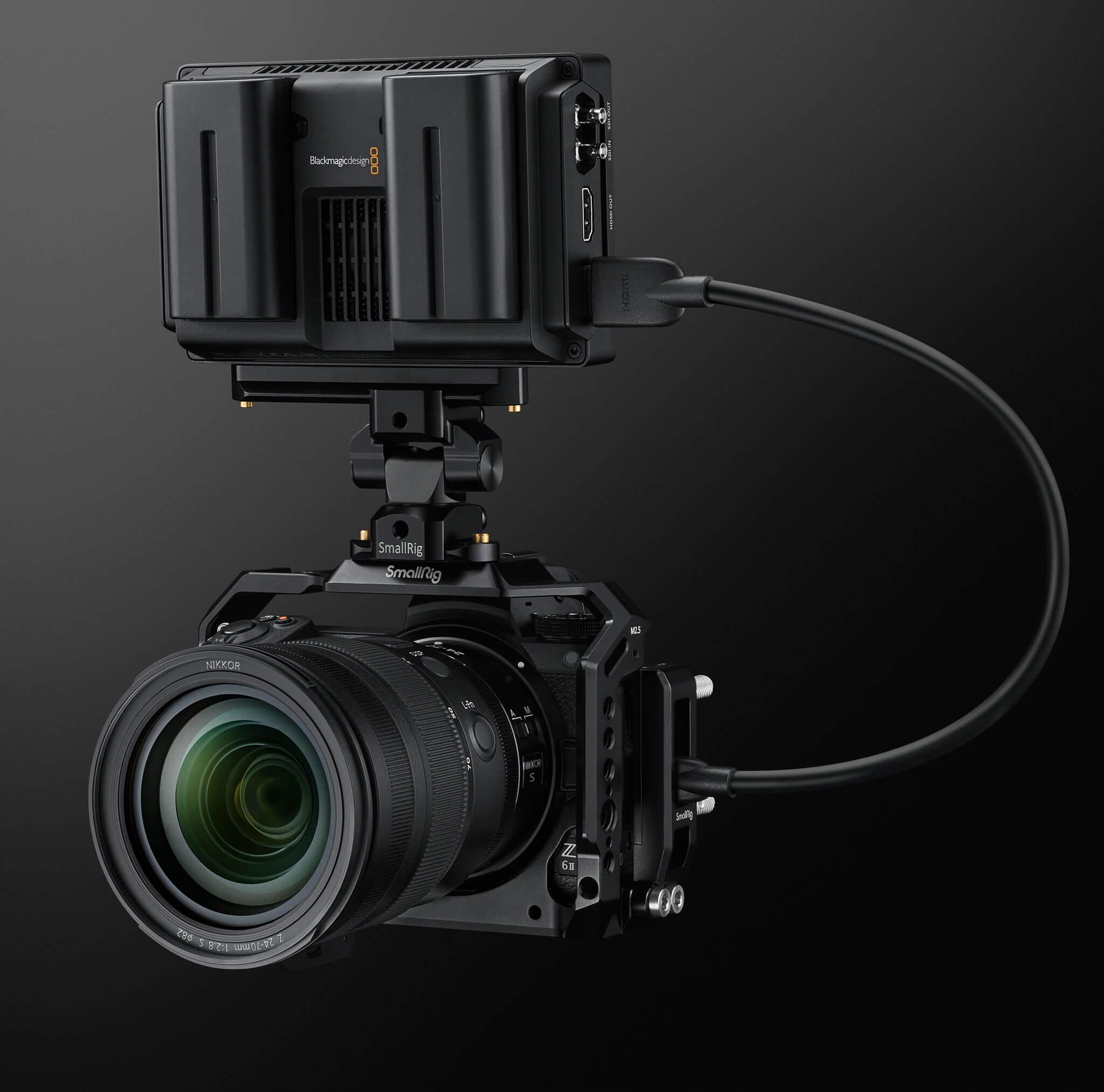Nikon Z 6II s Blackmagic rekordérom